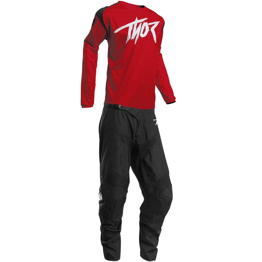 Thor Sector Link Red джерси и штаны для мотокросса