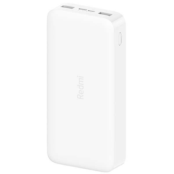 Аккумулятор Xiaomi Redmi Power Bank Fast Charge 20000, белый