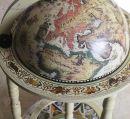 """Глобус бар напольный на 3-х ножках 33001 """"Карта мира"""""""