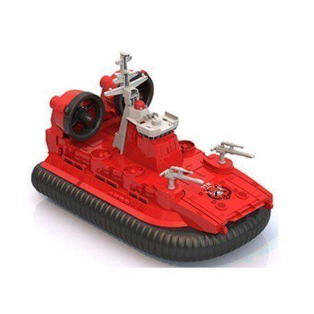 Катер-амфибия Пожарный на воздушной подушке, в коробке