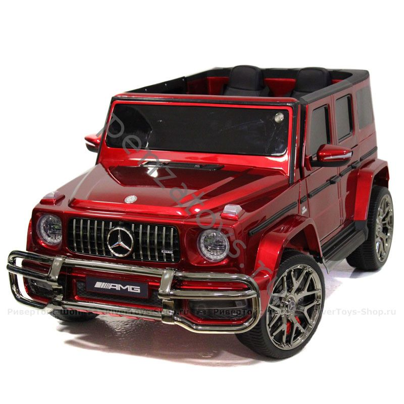 Электромобиль детский Mercedes-AMG G63 S307 Двухместный Лицензия