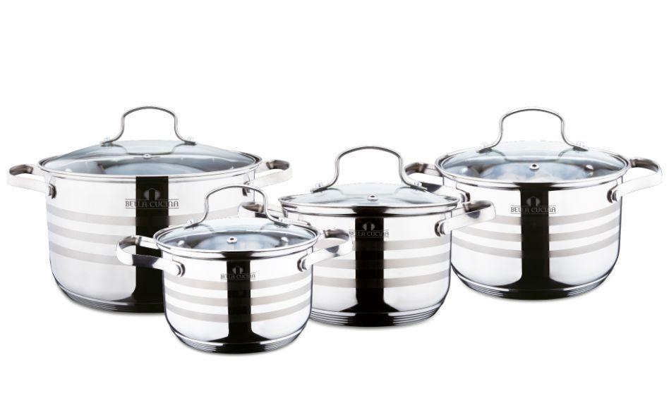 BC-2021 Набор посуды, 8пр