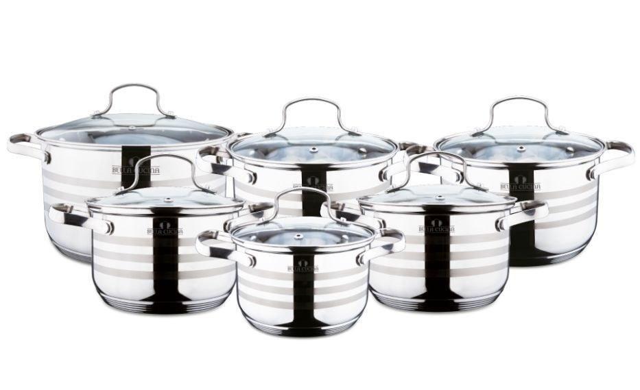 BC-2023 Набор посуды, 12пр