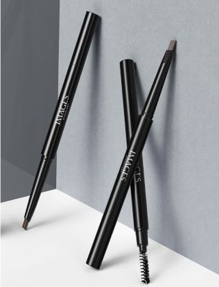 Водостойкий темно-коричневый карандаш с щеточкой для бровей Images.(22507)