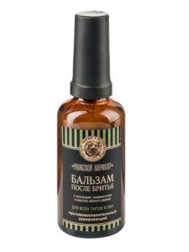 Клеона - Бальзам после бритья для всех типов кожи противовоспалительный, заживляющий с эхинацеей, гамамелисом и маслом чайного дерева. 50 мл