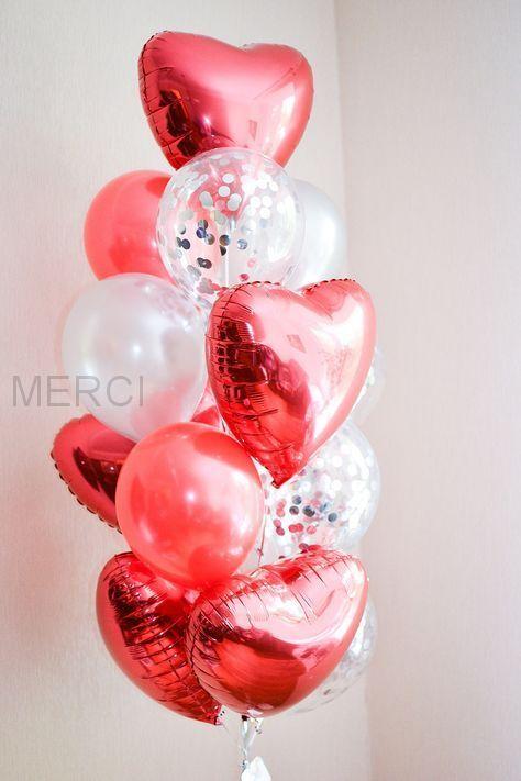 Набор шаров Нежная любовь