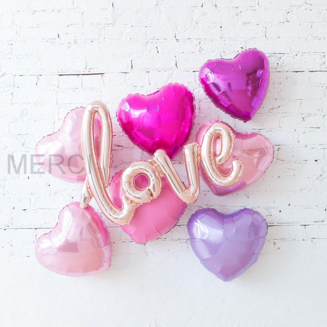 Набор шаров Яркая любовь