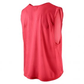 Футбольная манишка Nike Team Scrimmage Swoosh Vest красная
