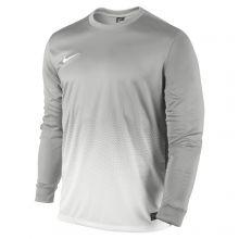 Серая игровая футболка Nike Precision II Long Sleeve Jersey