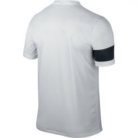 Детская бело-чёрная игровая футболка Nike Striker III Jersey