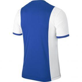 Детская бело-голубая игровая футболка Nike Park Derby Jersey