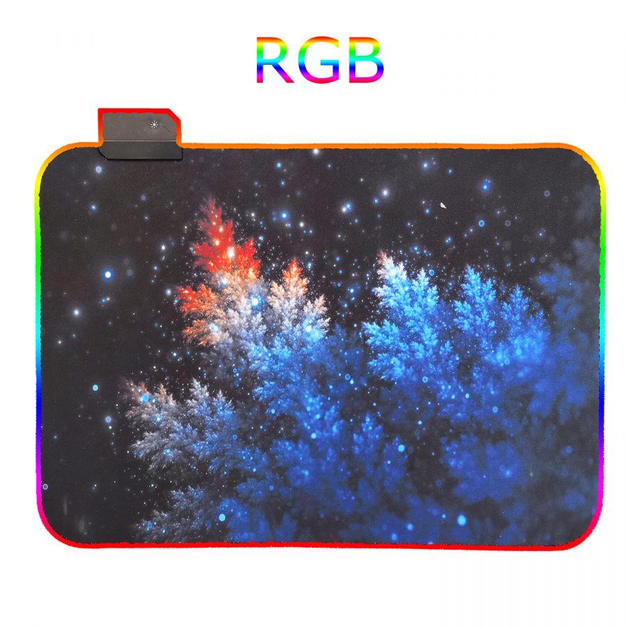 Орбита OT-PCM57 коврик для мышки RGB (Иней, 25*35см)