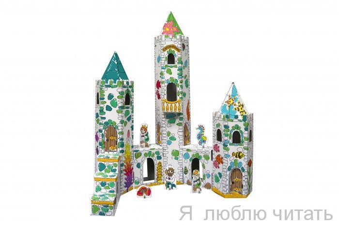 """Игровой домик из картона """"Замок Русалки"""""""