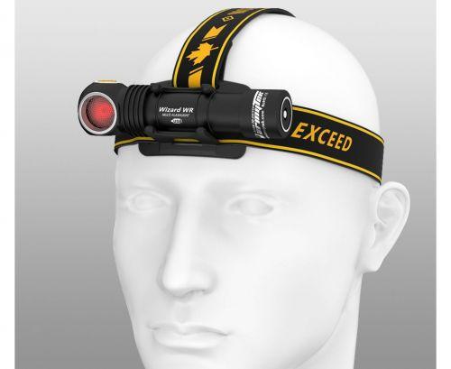 Мультифонарь Armytek Wizard WR Magnet USB (теплый-красный свет)