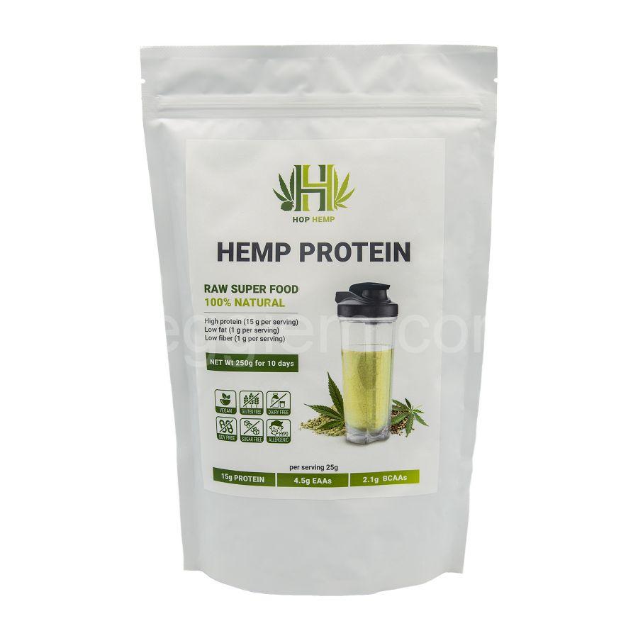 "Протеин конопляный Hemp Protein ""HopHemp"",250 грамм"