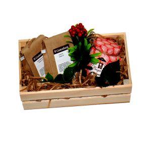 """Подарочный набор в ящике """"Хорошему человеку"""""""