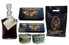 Набор №41 - МЯСНОЙ ЗАПАС! Мясо диких животных (Гуляш$Косуля) + подарок