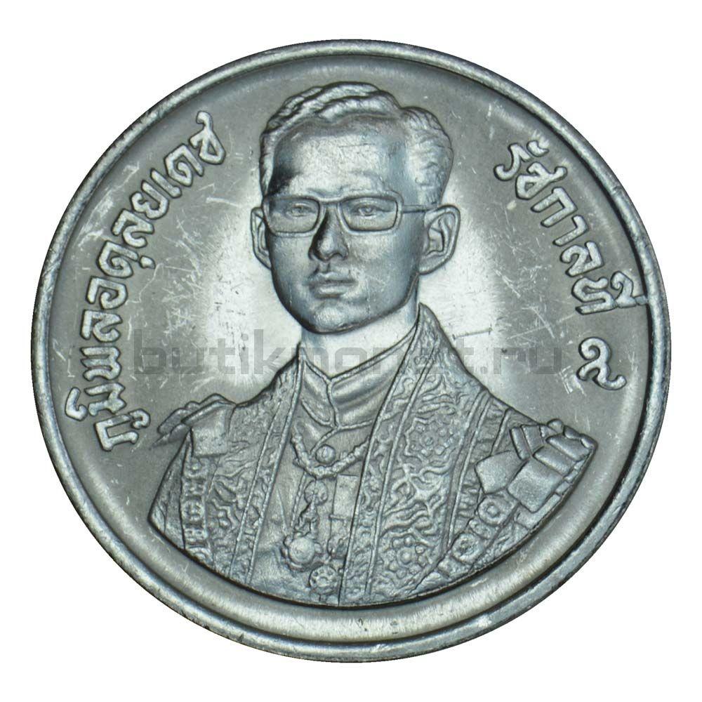 10 бат 1987 Таиланд 60 лет со дня рождения Короля Рамы IX