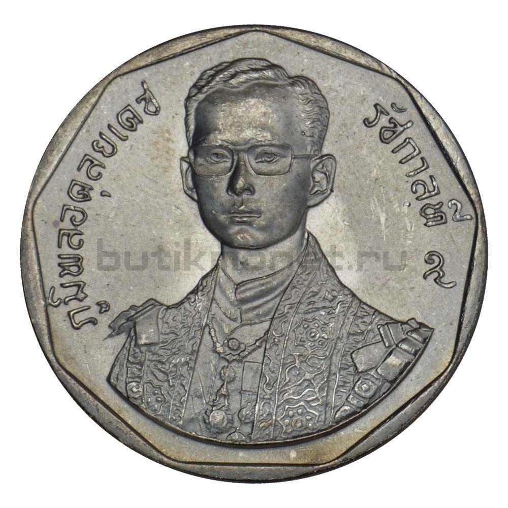 5 бат 1988 Таиланд 42 года правления Короля Рамы IX