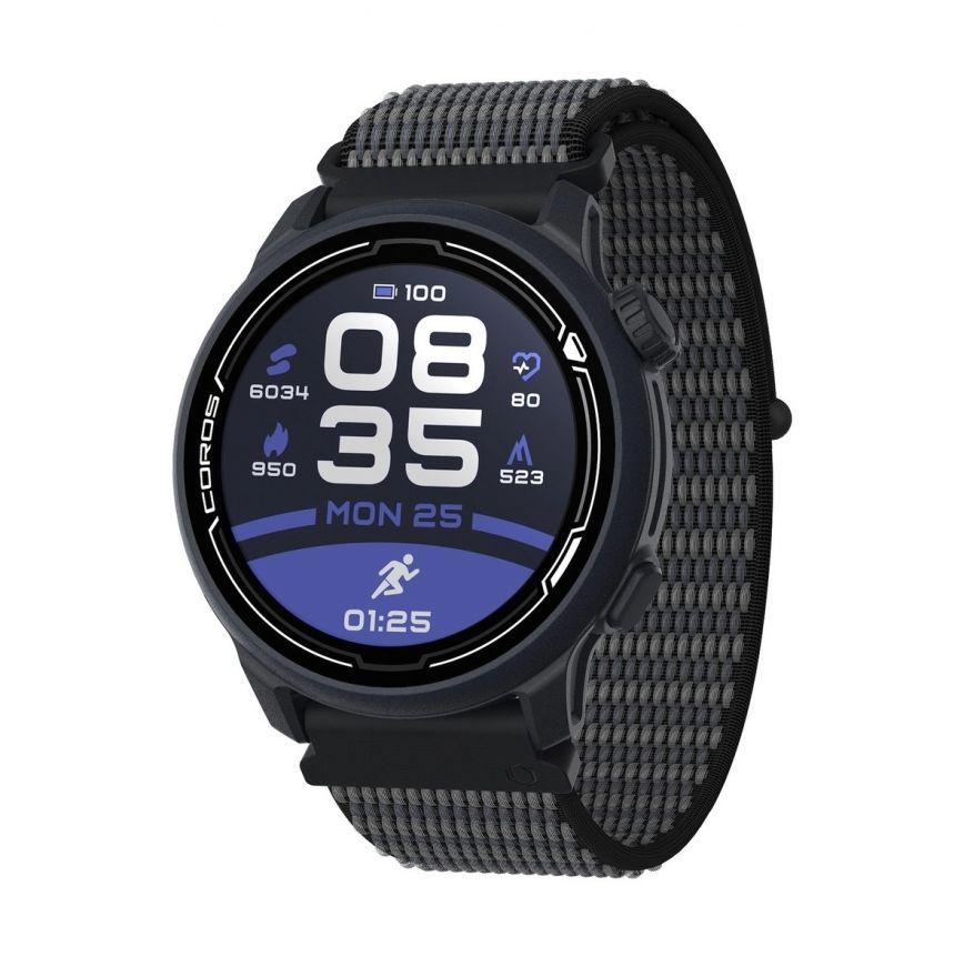 Часы Coros PACE 2 Premium Dark Navy c нейлоновым ремешком