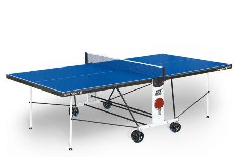 """Теннисный стол для помещений """"Start line Compact LX Indoor"""" (274 х 152,5 х 76 см) с сеткой"""