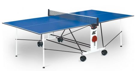 """Теннисный стол для помещений """"Start line Compact Light LX Indoor"""" (274 х 152,5 х 76 см) с сеткой"""