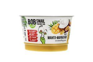 Десерт кокосовый манго-маракуйя ТМ Bob Snail, 180 грамм