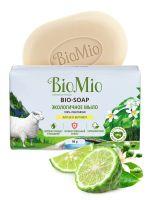 Туалетное мыло Литсея и бергамот BioMio,90 грамм