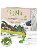 Стиральный порошок для белого белья без запаха BioMio, 1,5 кг