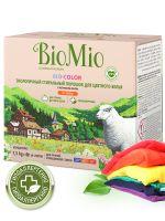 Стиральный порошок для цветного белья без запаха BioMio, 1,5 кг