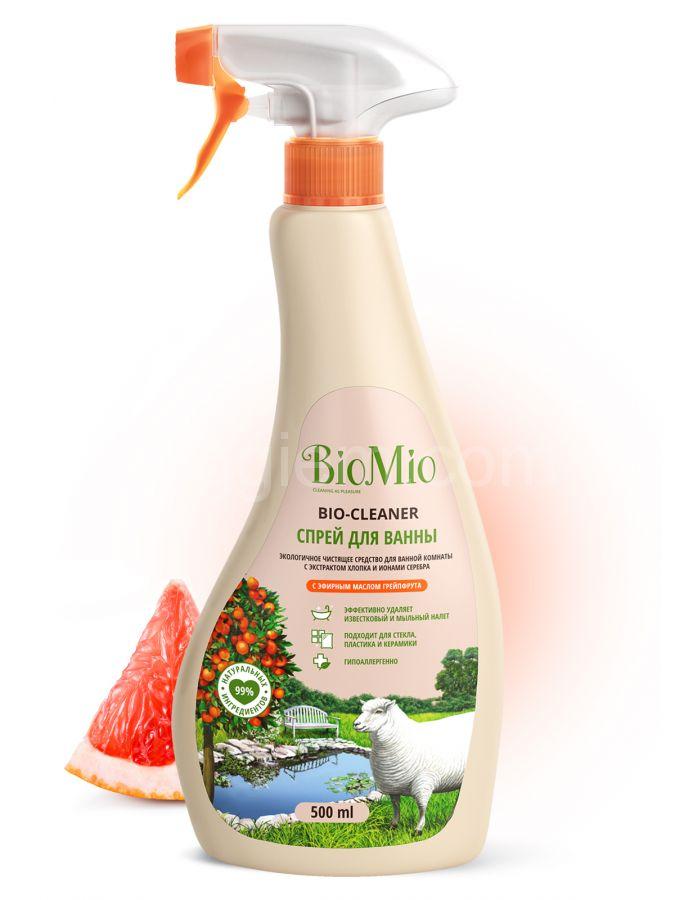 Спрей для ванны Грейпфрут BioMio,500 мл