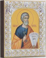 Икона Пётр Апостол (9х10,5см)