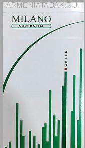 (305)Milano Super Slims green (Оригинал)
