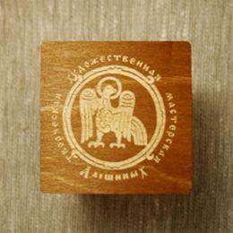 Сувенирная коробочка-2 для колокольчиков №3. Дерево.