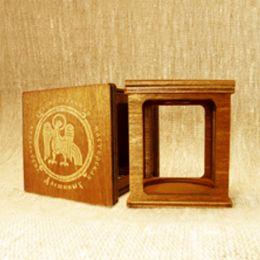 Сувенирная коробочка-1 для колокольчиков №3. Дерево.