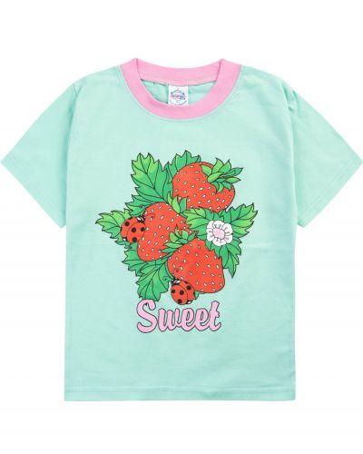 "Футболка для девочек 1-4 лет Bonito ""Fowers & Sweet"""