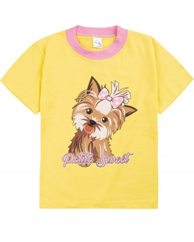 "Футболка для девочек 1-4 лет Bonito ""Dogs"""