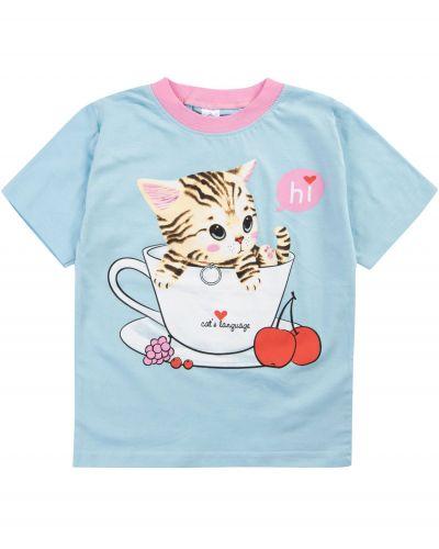 """Футболка для девочек 1-4 лет Bonito """"Cats"""""""