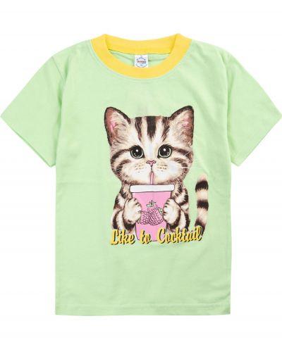 """Футболка для девочек 1-4 лет Bonito """"Cats+"""""""