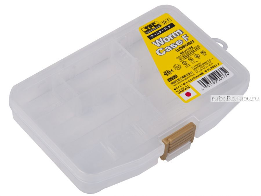 Коробка рыболов. Meiho  Worm Case F 146/103/23 (W-F)