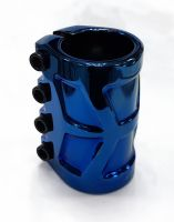 Зажим 4 болта GS, SCS (HARPY) blue