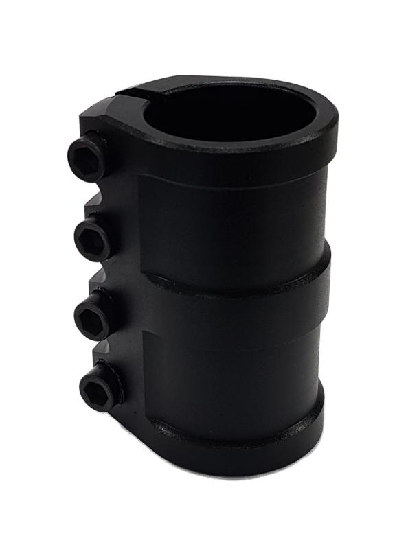 Зажим 4 болта H, SCS (HEX) black