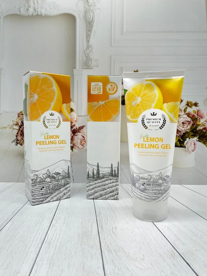 Пилинг-гель для лица Secret Key Lemon sparkling peeling gel 120 мл(7300) Корея оригинал)