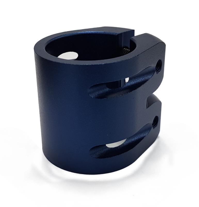Зажим 2 болта С, HIC, (DRACO) blue