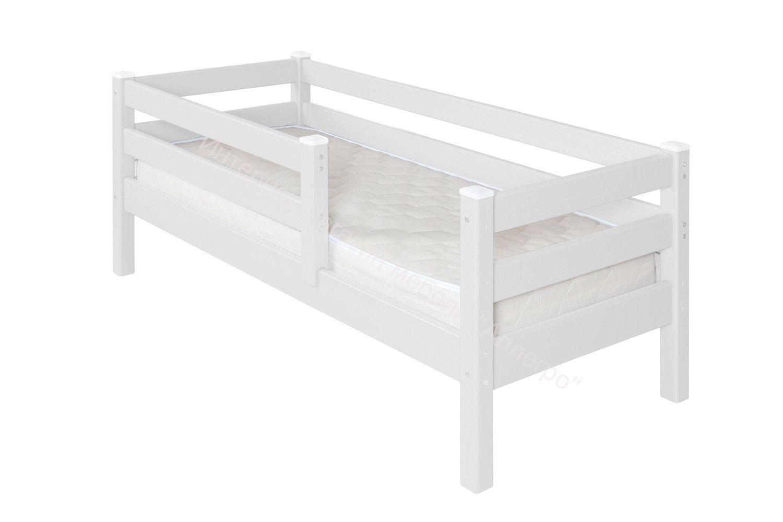 """Детская кровать """"Соня"""" 1600 Белый"""