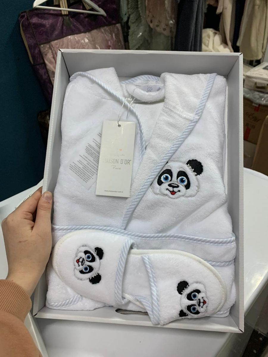 Тапочки и халатик для детей