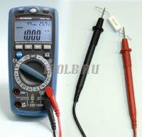 АММ-1062 Мультиметр цифровой - измерение сопротивления фото