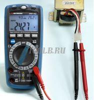 АММ-1062 Мультиметр цифровой - измерение переменного напряжения фото