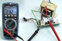 АММ-1062 Мультиметр цифровой - измерение переменного тока фото