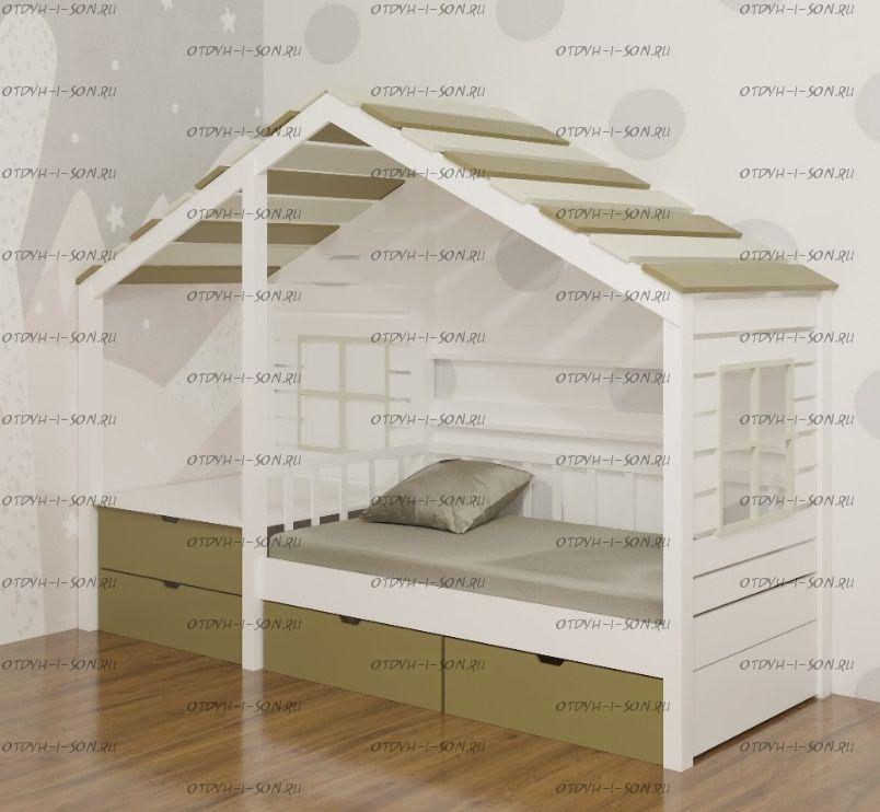 Кровать Домик Calipso №39, любые размеры
